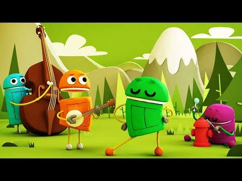 StoryBots | Campfire Songs | Traditional Songs with the StoryBots
