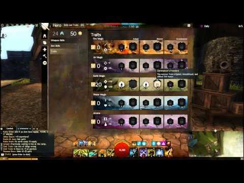 Guild Wars 2 | D/D Elementalist Guide | P.1: Armor, Gear, Traits
