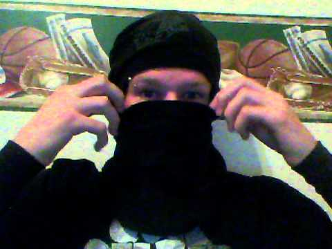 how to make a ninja mask out of a t-shirt