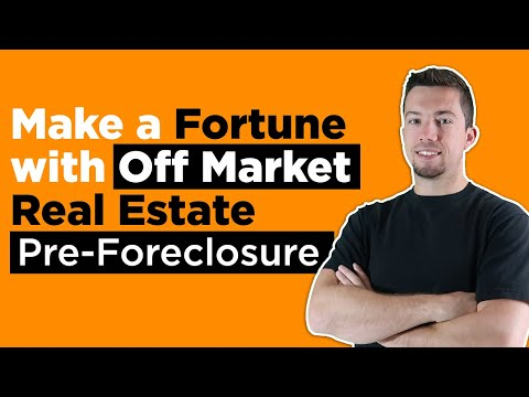 Pre-Foreclosure Investing - Real Estate Strategy