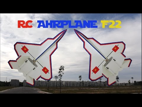 HOW TO BUILD A RC AIRPLANE F22, F35 AT HOME SIMPLE TUTORIAL DIY