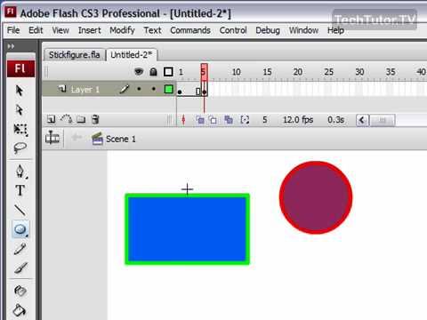 Create a Simple Flash Movie in Flash CS3