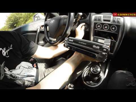 Radio Einbau (Aurora G7 von ICartech) Radioeinbauvideo Teil 1