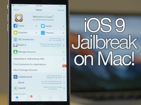 How to jailbreak iOS 9 on Mac