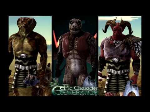 Epic Character Generator - Season #2: Muscular Supernatural & Female Drow Spellcaster