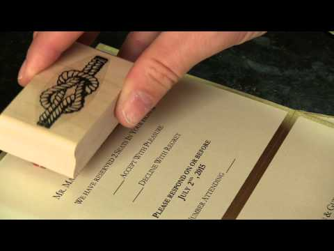How to make Wedding Invitations on a budget