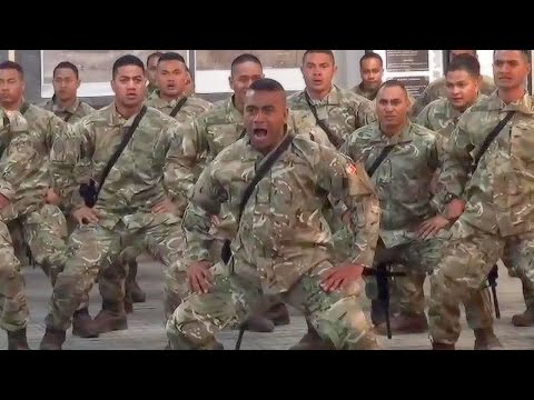 Deadliest Warriors In The World: Royal Tongan Marines Battle Cry - Sipi Tau (Kailao)