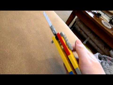 lego switch blade pocket knife