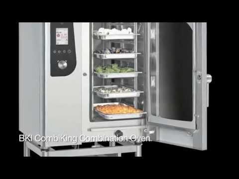 BKI Combi-King Combination Oven – Cleaning