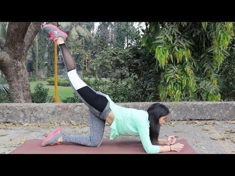 How To Reduce Butt Fat | 5 Simple Exercises | WORKitOUT