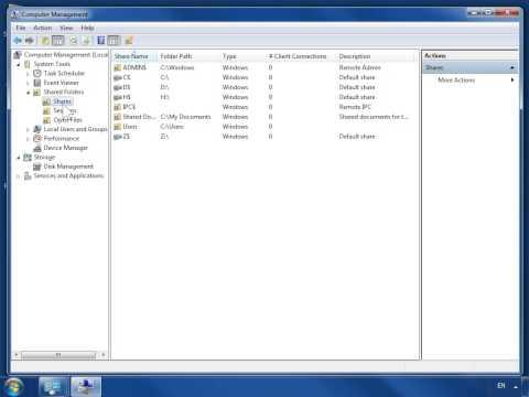 Windows 7 Change Permissions on a Shared Folder