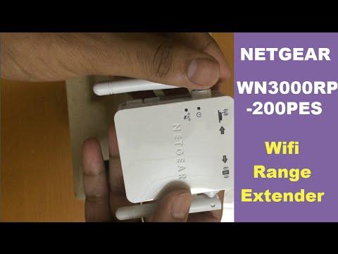 Netgear WN3000RP-200PES Universal Wifi Range Extender [UNBOXING]