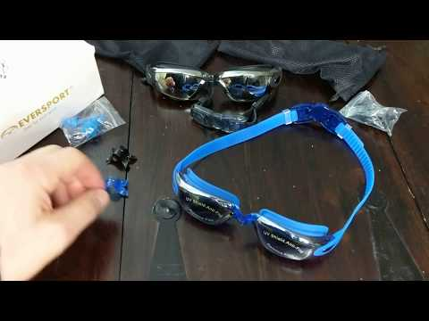Eversport Swimming Goggles How To Change Nose Bridge Replacements