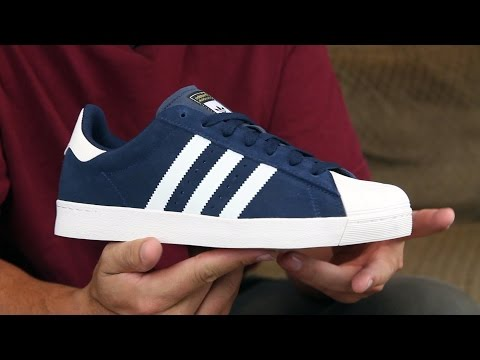 new product e3b61 6ab5e Adidas Superstar Vulc ADV Skate Shoes Review - Tactics.com