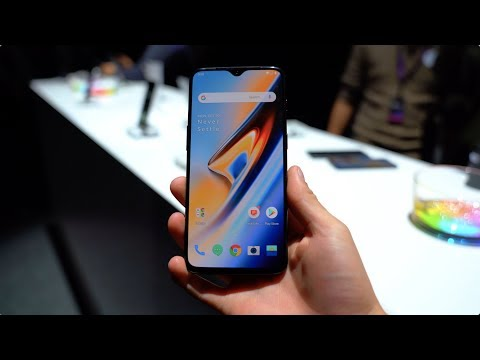 OnePlus 6T Hands On!