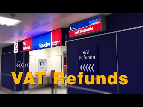 เที่ยวลอนดอน การขอคืนเงิน VAT Refunds & Oyster Card (Day 10)