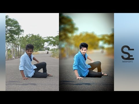 Photoshop Cc Tutorial : Outdoor Portrait Edit(In Tamil)