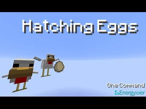 Minecraft - Hatching Eggs