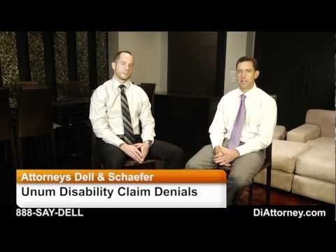 Unum Disability Denial and Unum Appeal Tips From Disability Attorneys Dell & Schaefer