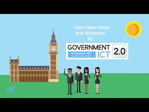 Join Clearvision at Government ICT 2.0 | 26th September 2017