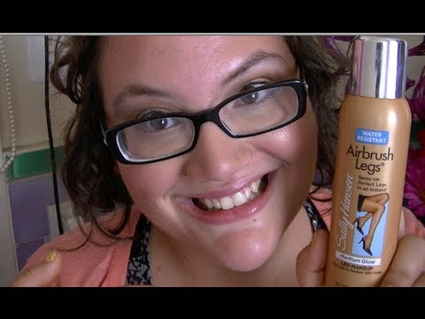 DOES SALLY HANSEN'S AIRBRUSH LEGS COVER SCARS? (demo & review)