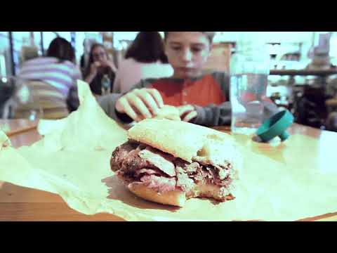 Succulent and juicy prime rib sandwich Eataly Chicago $16.47
