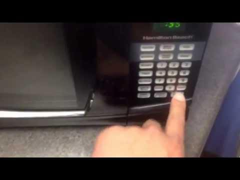 Reheating hamburger trick