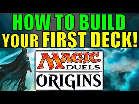 How to Build your First Deck in Magic Duels: Origins!