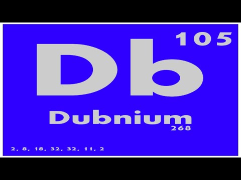 STUDY GUIDE: 105 Dubnium | Periodic Table of Elements