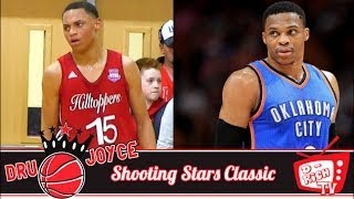 e9c95075e972 7th Grader Zion Cruz Is Baby Russell Westbrook! 2017 Dru Joyce Shooting  Stars Classic