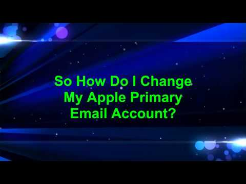Changing Apple Email
