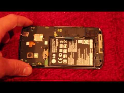 How to check for water damage Google LG Nexus 4 indicator sticker