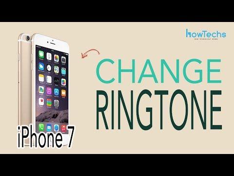 iPhone7 - How to Change Ringtone
