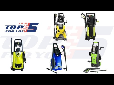 Top 5 Best Electric Pressure Washers of 2017 - 2018