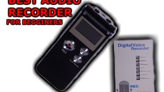 BEST Audio Recorder for Beginners! | Review and Unboxing