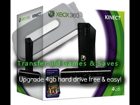 How to upgrade Xbox 360 4gb hard drive using your old HDD, free easy way!