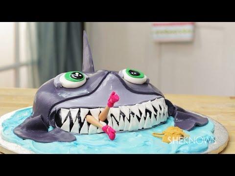 Make a Shark Week Cake
