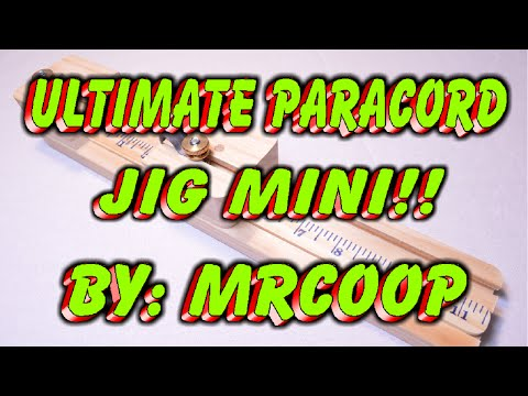 Paracord Jig For Sale Ultimate Paracord Jig Mini By: MrCoop