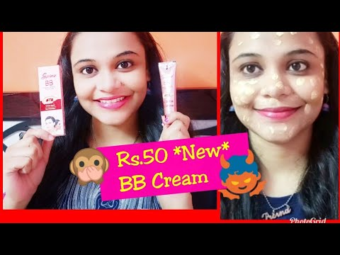 *NEW* SPINZ BB CREAM 😱 (FAIRNESS & GLOW ) Review and Demo | SuperBeautyDezires