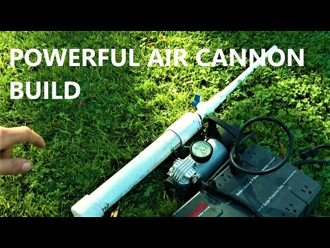 how to make a pvc air cannon