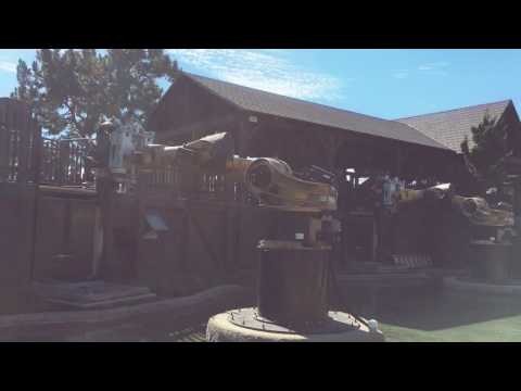 KNIGHTS' TOURNAMENT ride at Legoland California