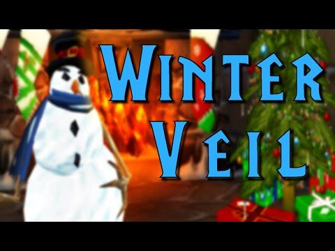 Grandma Celebrats Winter Veil