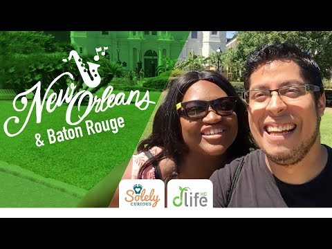 6 Places to Visit in New Orleans & Baton Rouge | dLifeHD Vlog