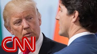 Trump invokes War of 1812 in testy call with Trudeau over tariffs