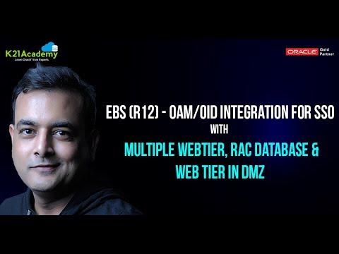 EBS (R12) - OAM Integration: Deploying EBS Webgate in DMZ, Multiple AppTier & RAC