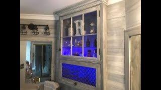 Backlit Cabinet Door Diy!