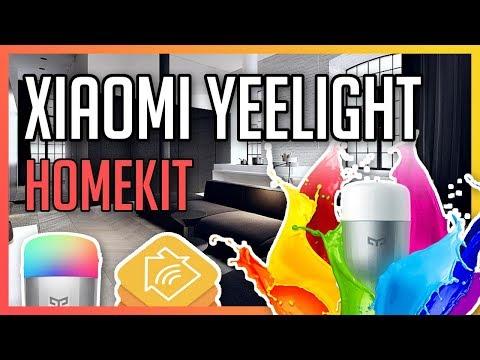 Piloter ses ampoules connectées Xiaomi Yeelight avec HomeKit ! (via HomeBridge)