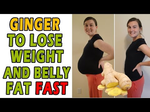 HOW TO LOSE WEIGHT AND BELLY FAT FAST WITH GINGER!