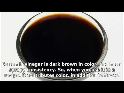 How to Make a Balsamic Vinegar Substitute in Two Minutes