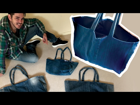 Jeans Bag - DIY Tote Bag